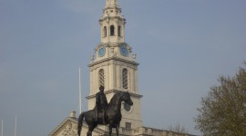 Trafalgar Square Wallpaper For IPhone