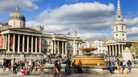 Trafalgar Square Wallpaper High Definition
