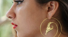 Unusual Earrings Desktop Wallpaper