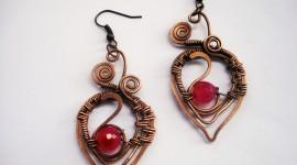Unusual Earrings Photo Download