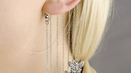 Unusual Earrings Wallpaper For IPhone#3