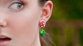Unusual Earrings Wallpaper HQ