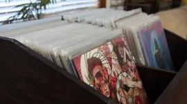 Vinyl Records Wallpaper Background