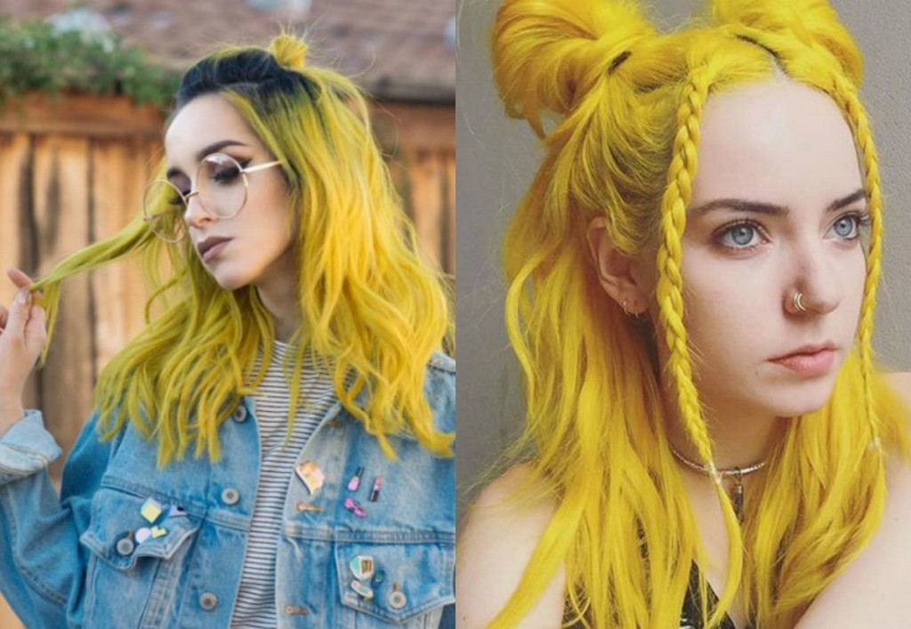 Yellow Hair wallpapers HD