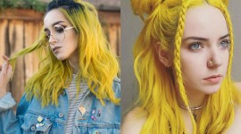 Yellow Hair Wallpaper Download Free