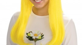 Yellow Hair Wallpaper For IPhone Free