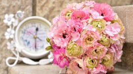 4K Bouquet Of Peonies Photo