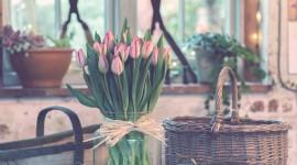 4K Bouquet Tulips Desktop Wallpaper