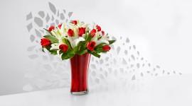 4K Bouquet Tulips Desktop Wallpaper HD