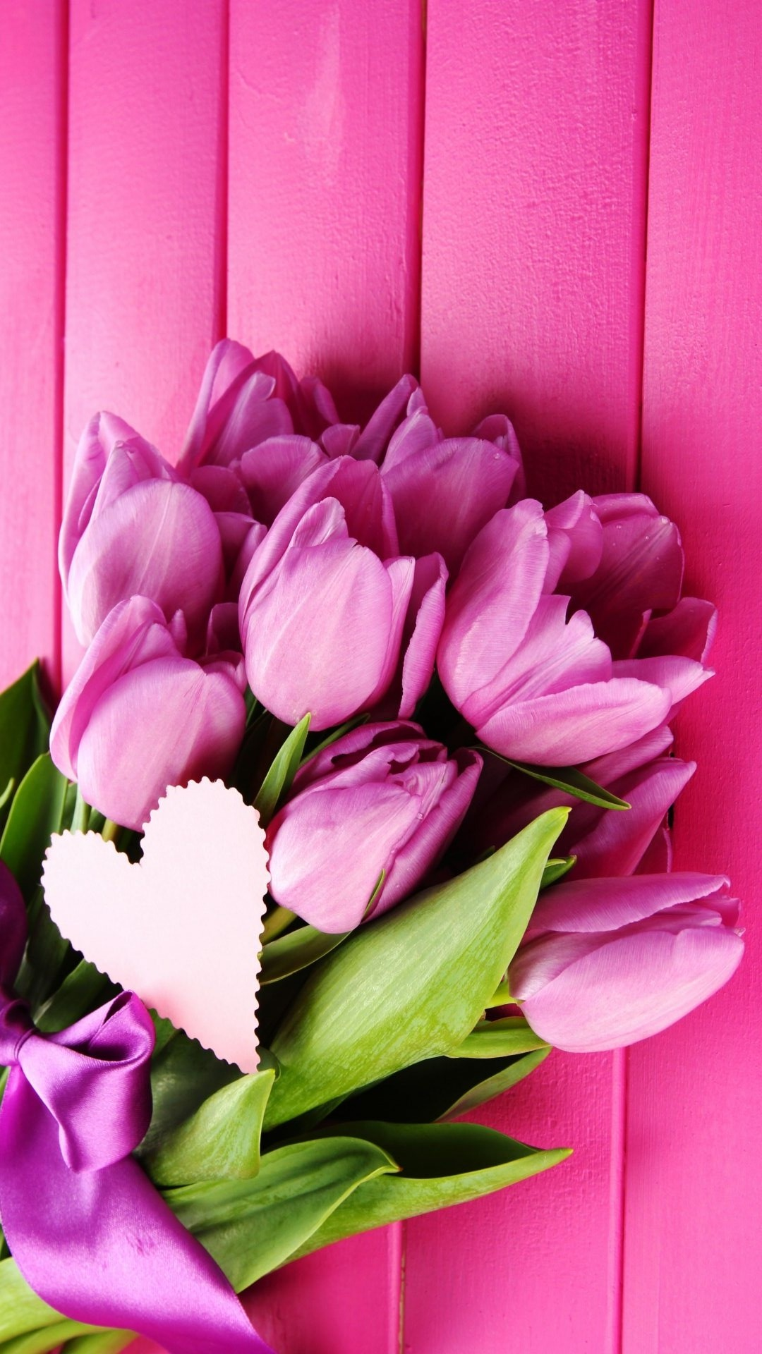 4K Bouquet Tulips Wallpaper For Mobile