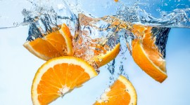 4K Orange Slices Best Wallpaper