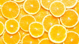 4K Orange Slices Desktop Wallpaper HD