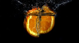 4K Orange Slices Photo Download
