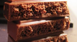 Aerated Chocolate Wallpaper For Android
