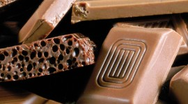 Aerated Chocolate Wallpaper For Mobile
