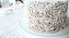 Australian Lamington Cake Photo Download