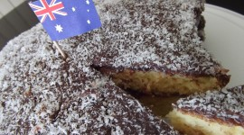 Australian Lamington Cake Wallpaper