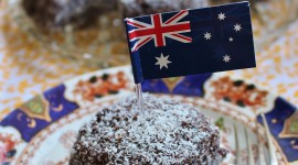 Australian Lamington Cake For IPhone
