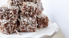 Australian Lamington Cake For Mobile#1
