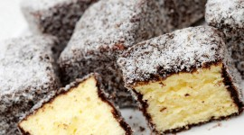 Australian Lamington Cake Wallpaper Full HD