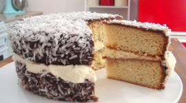 Australian Lamington Cake Wallpaper HQ#2