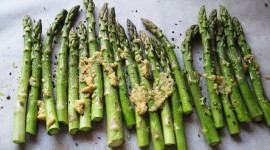 Baked Asparagus High Quality Wallpaper