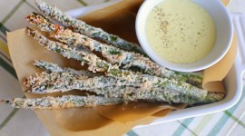 Baked Asparagus Wallpaper Download Free