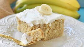 Banana Cake Wallpaper High Definition