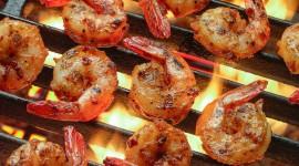 Barbecue Shrimp Desktop Wallpaper