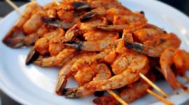 Barbecue Shrimp Desktop Wallpaper For PC