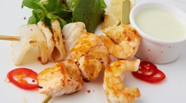 Barbecue Shrimp Photo