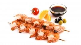 Barbecue Shrimp Photo Free