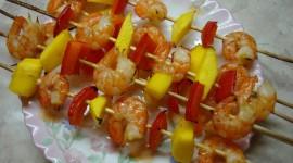 Barbecue Shrimp Photo Free#1