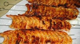 Barbecue Shrimp Wallpaper