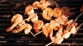 Barbecue Shrimp Wallpaper Download