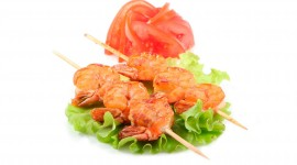 Barbecue Shrimp Wallpaper For PC