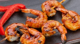 Barbecue Shrimp Wallpaper Free