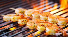 Barbecue Shrimp Wallpaper Full HD