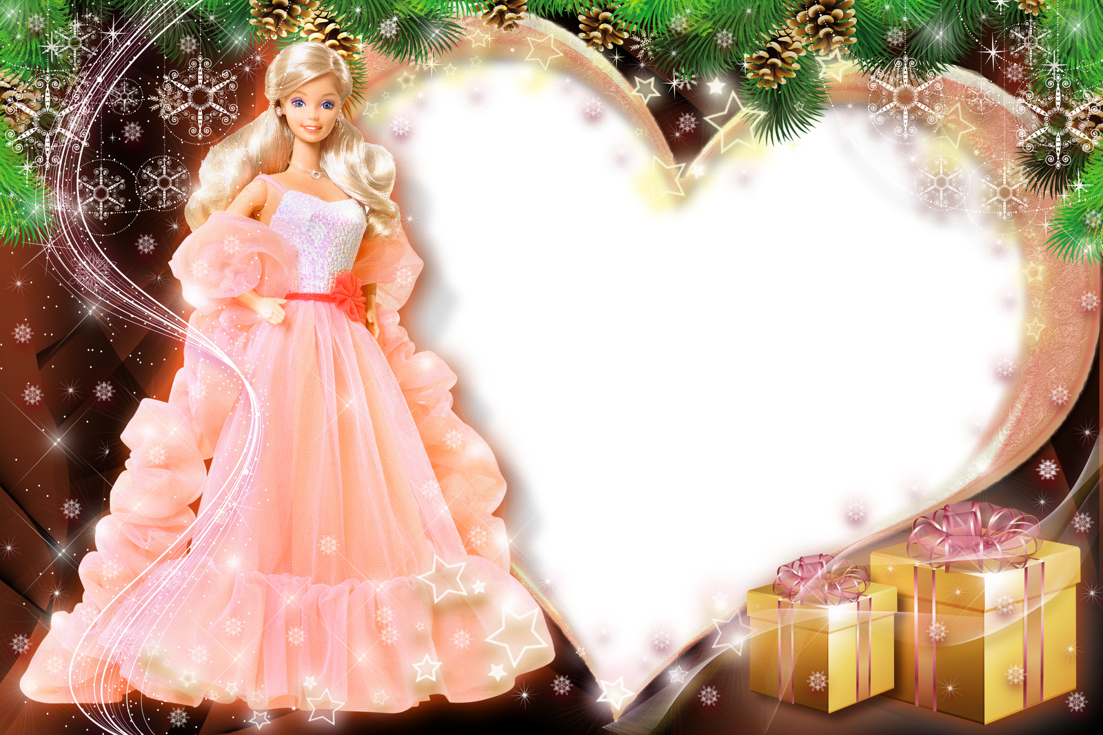 Barbie Frames Wallpapers High Quality | Download Free