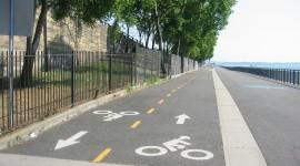 Bike Path Desktop Wallpaper