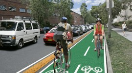 Bike Path Wallpaper HD