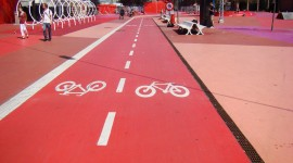 Bike Path Wallpaper High Definition