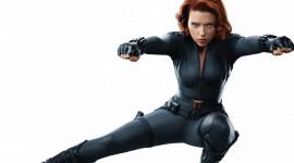 Black Widow Wallpaper Background