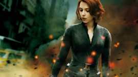 Black Widow Wallpaper Full HD