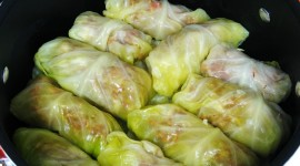 Cabbage Rolls Wallpaper Background