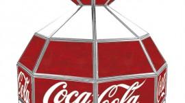 Coca Cola Lamp Desktop Wallpaper For PC