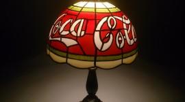 Coca Cola Lamp Photo