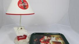Coca Cola Lamp Wallpaper