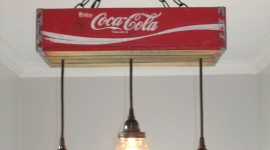 Coca Cola Lamp Wallpaper For Android