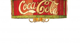 Coca Cola Lamp Wallpaper For IPhone#1